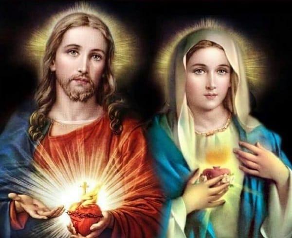 11 giugno: Solennità del SACRO CUORE DI GESÙ e 12 giugno: Memoria del CUORE  IMMACOLATO DI MARIA -
