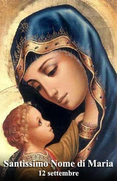 Il Nome Santissimo di MARIA